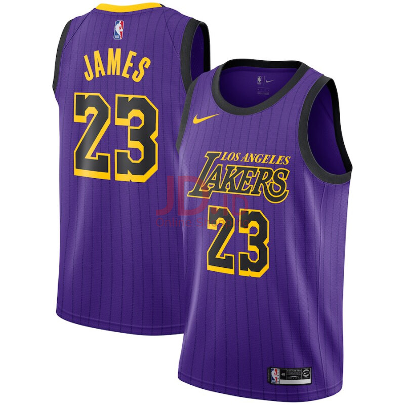 best sneakers a2be0 ea588 Jual Nike NBA LeBron James 23# Basketball Jersey Men Purple ...