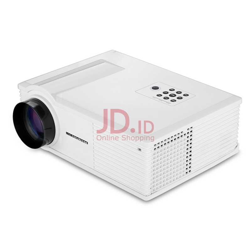 Jual Excelvan Hd Home Theater Multimedia Lcd Led Projector 720p Hdmi