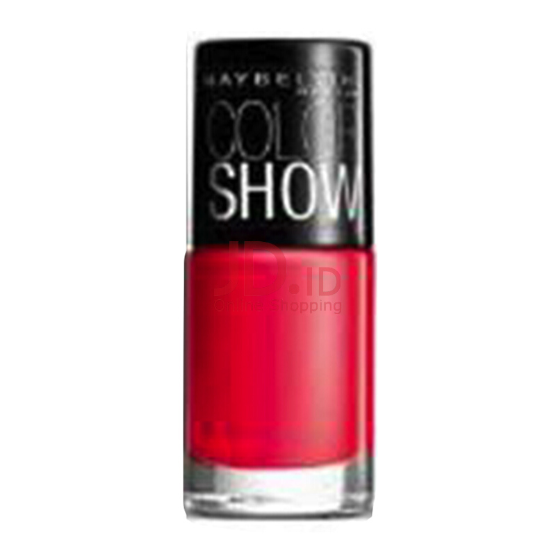 MAYBELLINE Color Show Cat Kuku 212 Hooked on Pink 6 ml .