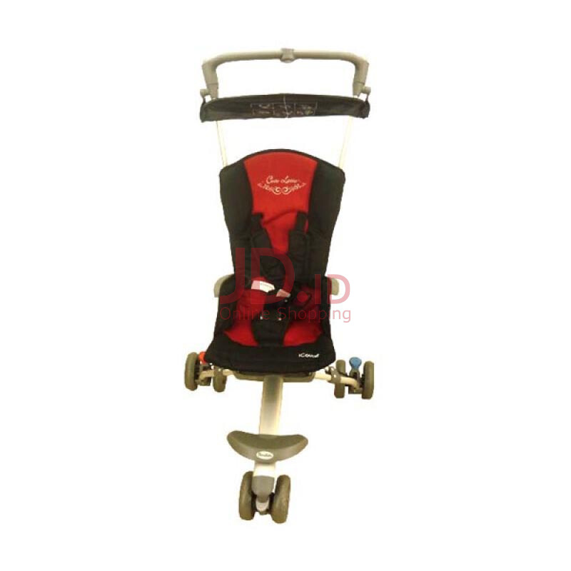 jual cocolatte stroller icoupe cl 887 red dreamy baby