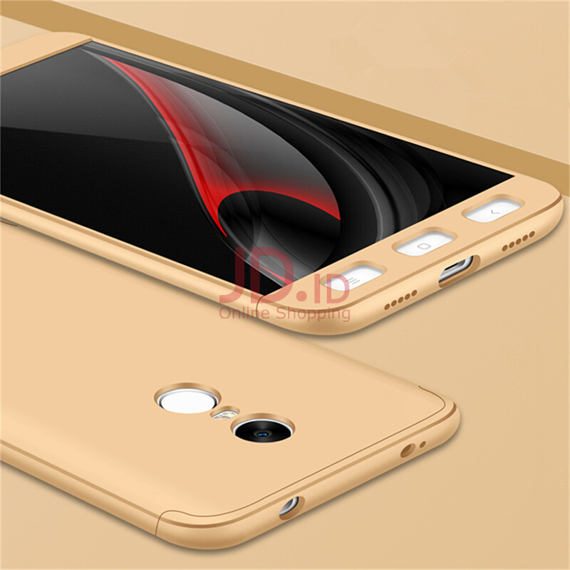 Jual 3 in 1 Protection Case for Xiaomi Redmi Note 4 Slim Hard PC Cover for