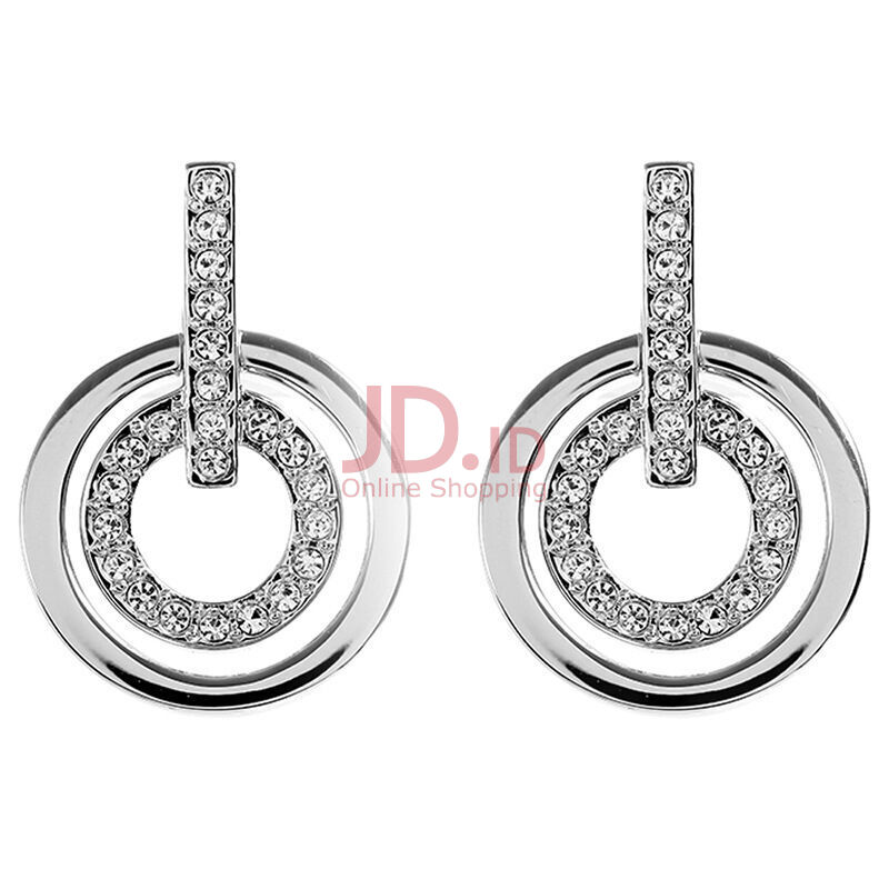 a2526da1e Jual SWAROVSKI CIRCLE MINI PIERCED EARRINGS 5007750 Jewelry(Perhiasan)  Outlet