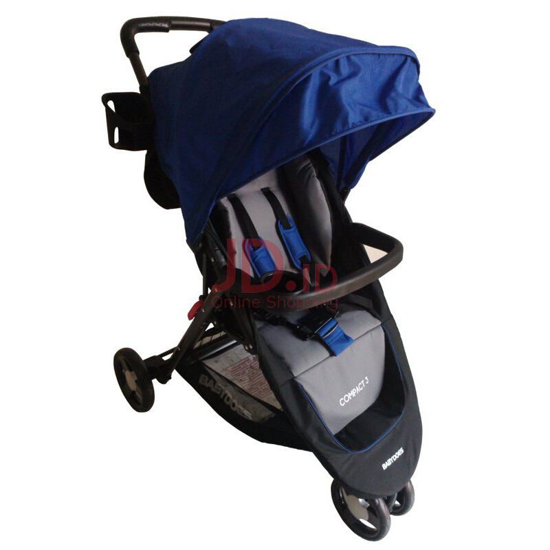 jual babydoes stroller ch 703 compact 3 blue dreamy baby