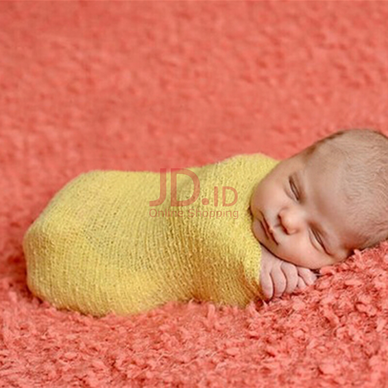 Jual newborn baby photography props blanket rayon stretch knit wraps 40150cm kingstore