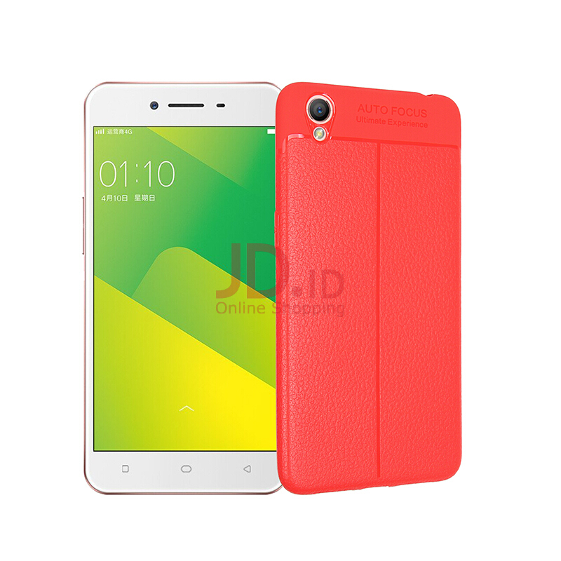 Jual Smatton Case hp for OPPO A37 case Soft Leather TPU Cover Leather Original Carbon Silicone