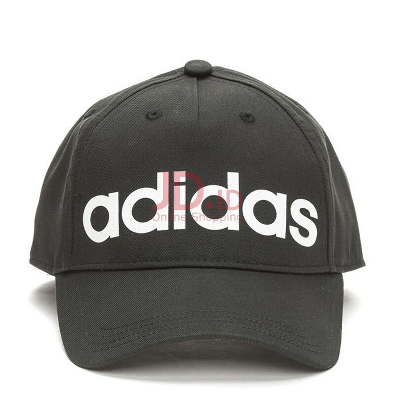ebc964e6b9c65 ... snapback leather cap hat trucker topi import cf35b 0ea72  netherlands jual  adidas daily cap men black white one size cf6820 jd.id 5ed77 b4e18