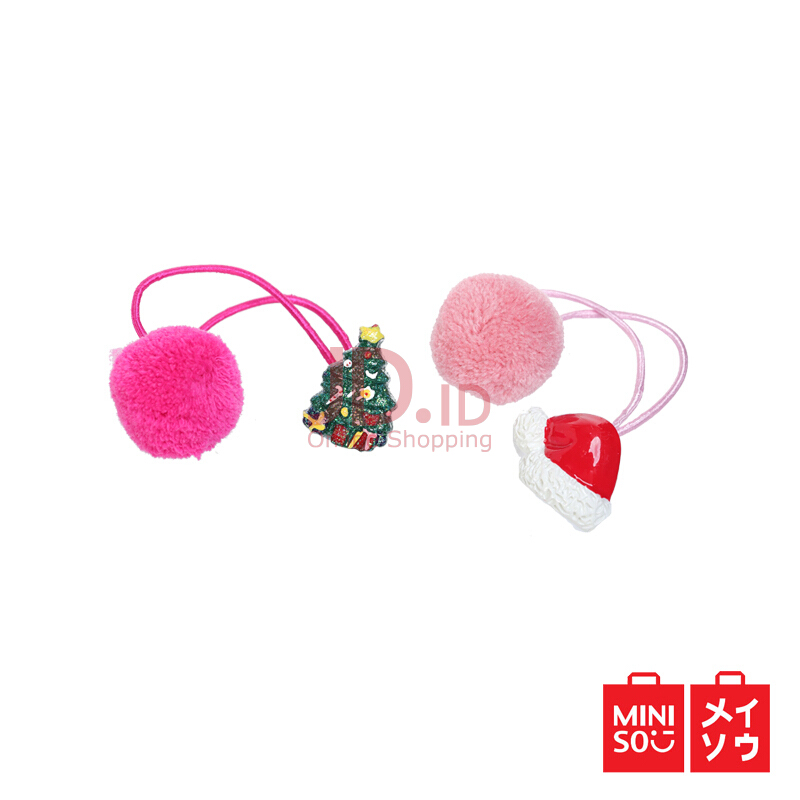 Jual Miniso Official Christmas Gift Children s Hair Tie (0816) MINISO  INDONESIA 4a41e139c38