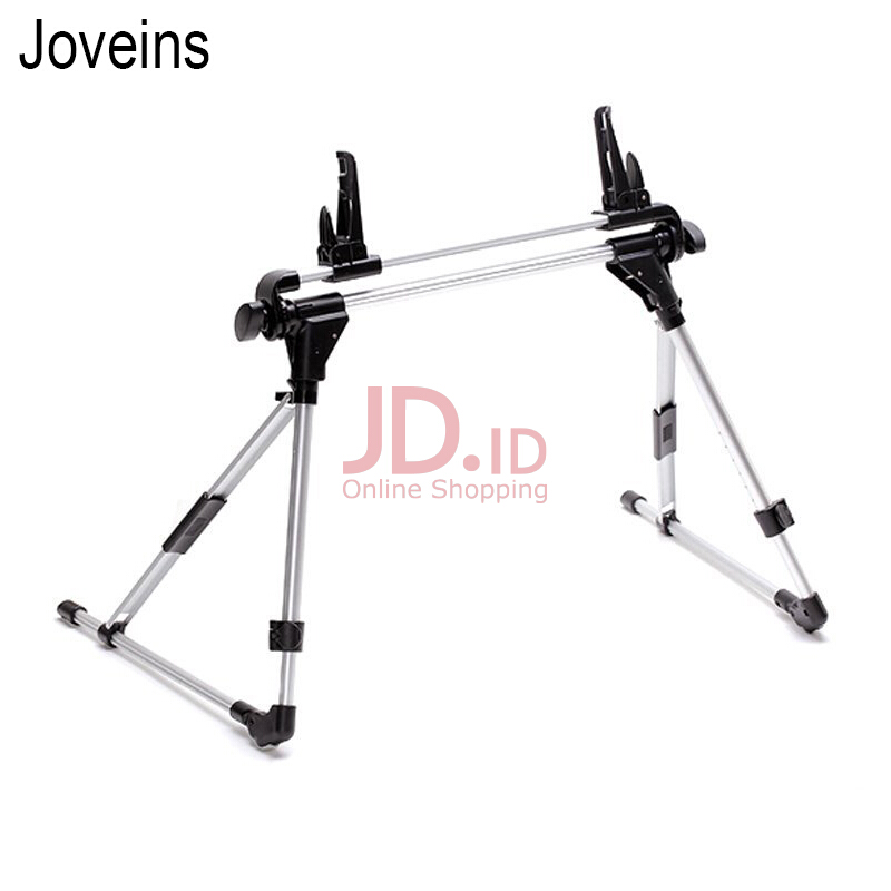 harga JOVEINS Auto Lock Tablet Mount Holder Floor Desktop Stand Lazy Bed Tablet Holder Mount Bracket for iPad air 2 4 5 mini Nexus 7 Silver Jd.id