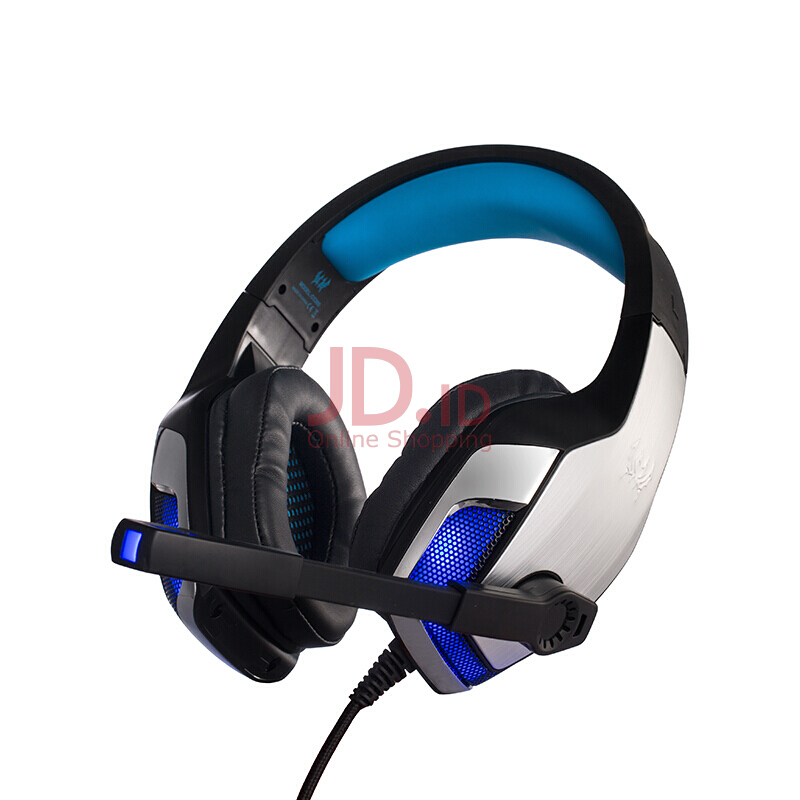 harga KOTION EACH G5300 headset gaming headset bass bass microphone microphone notebook desktop headset black and red Jd.id