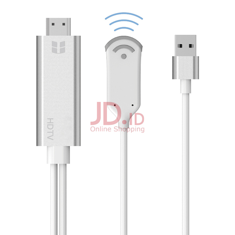 harga Vinmori Wireless Wifi TV Dongle Receiver 1080P Video To HDMI TV Adapter AV Cable For iPad iPhone X 8 PLUS 6 7 Samsung phone White Jd.id