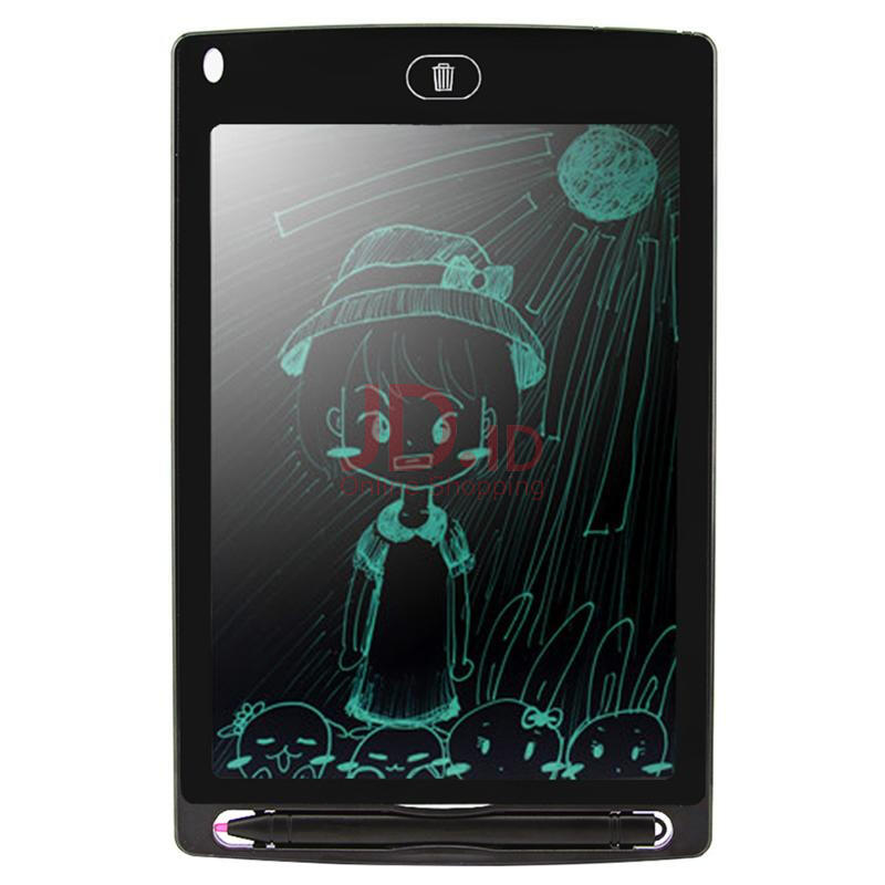 harga DELIVE 8.5 inch Smart Writing Tablet LCD Drawing ultra-thin Board Portable Handwriting Electronic Tablet Black Jd.id