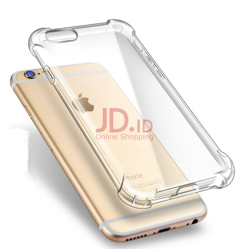 Jual LOLLYPOP Softcase Anti Crack Iphone 6 Plus Clear Transparant Bening Anti Shock Shockproof TPU Jelly