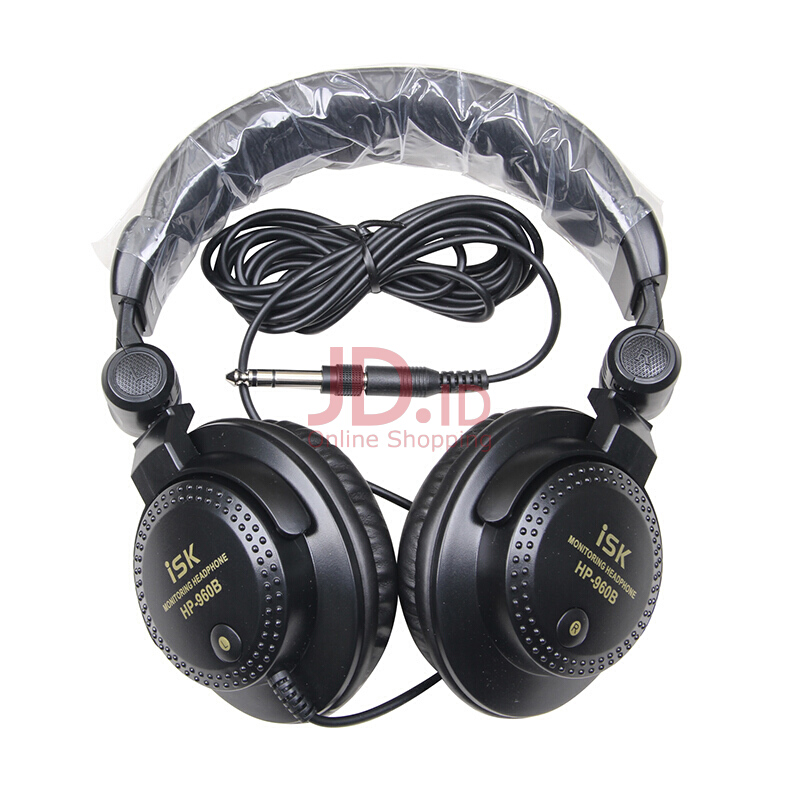 harga iSK HP960B monitor headset fully enclosed cavity design comfortable to wear Jd.id