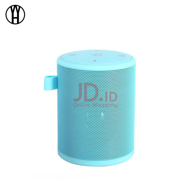 harga WH T2mini Outdoor Portable Card Waterproof Carabiner Subwoofer Mini Wireless Bluetooth Speaker for xiaomi samsung iphone Blue Jd.id