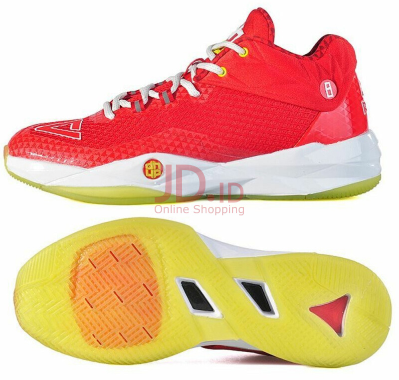 Jual PEAK Basketball Shoes Dwight Howard II Low-Red White Red White 39 Peak  Indonesia 2592fcdcab
