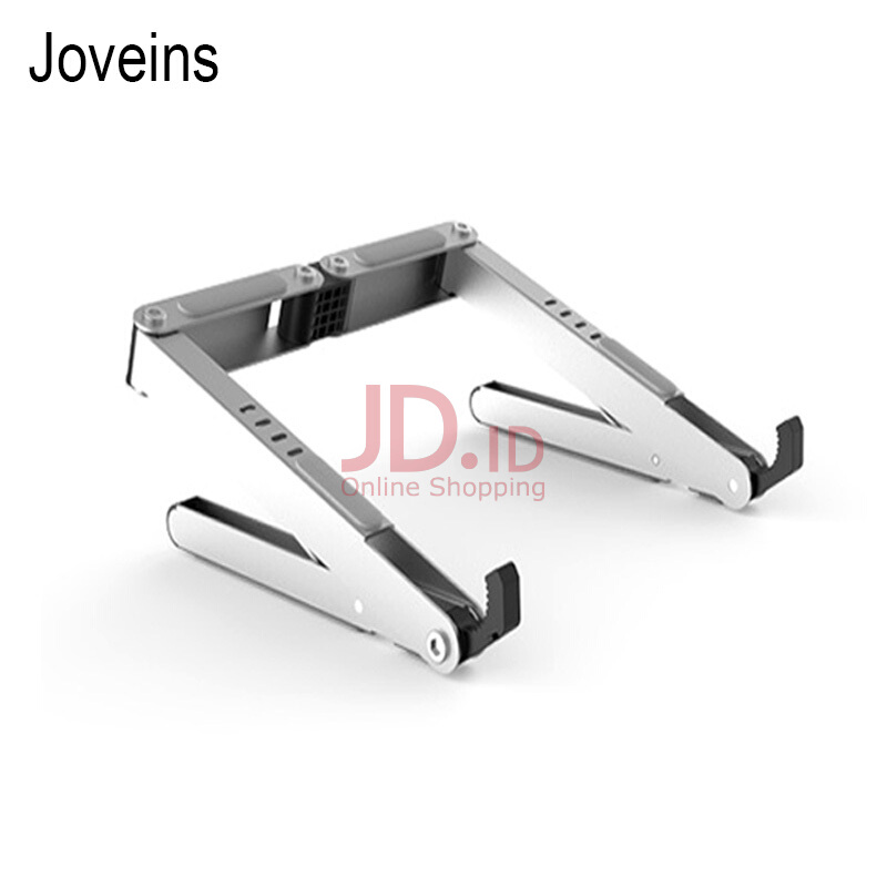 harga JOVEINS Adjustable Laptop Stand Holder For iPad Pro iPad Air Mini Tablet Holder Aluminum Alloy Heat Dissipation Desk Holder Silver Jd.id