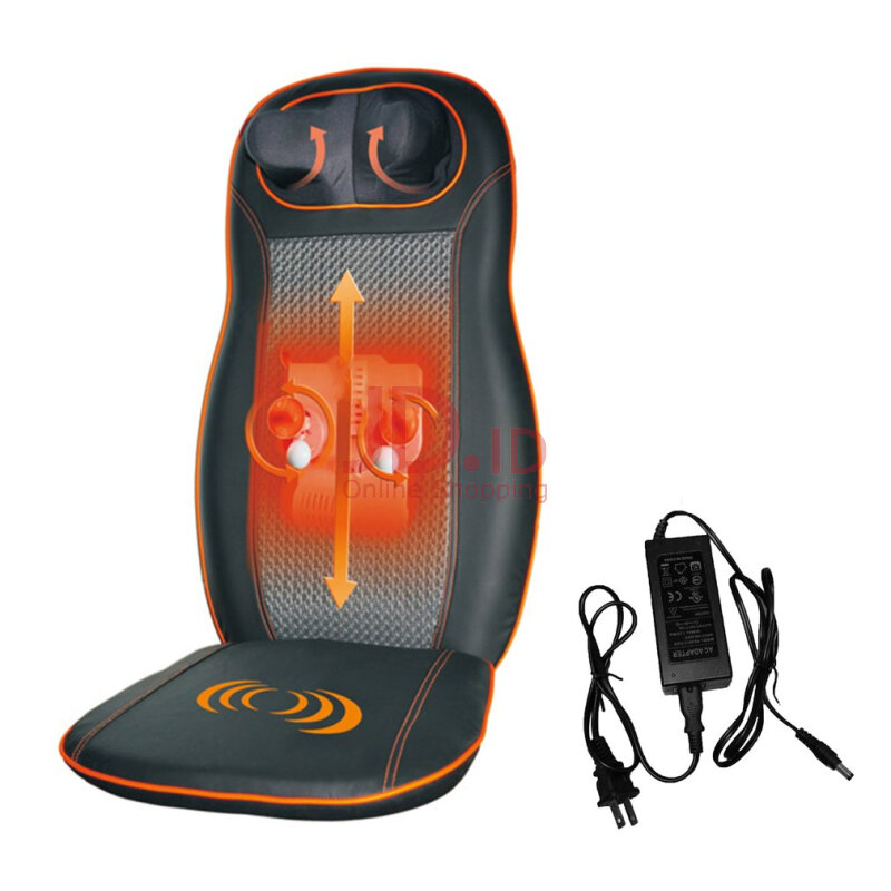 Jual Tower Pro Full Body Back Car Seat Massager Cushion Chair Pad